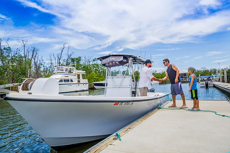 Meeting our fishing charter Captains | Florida Adventures and Rentals