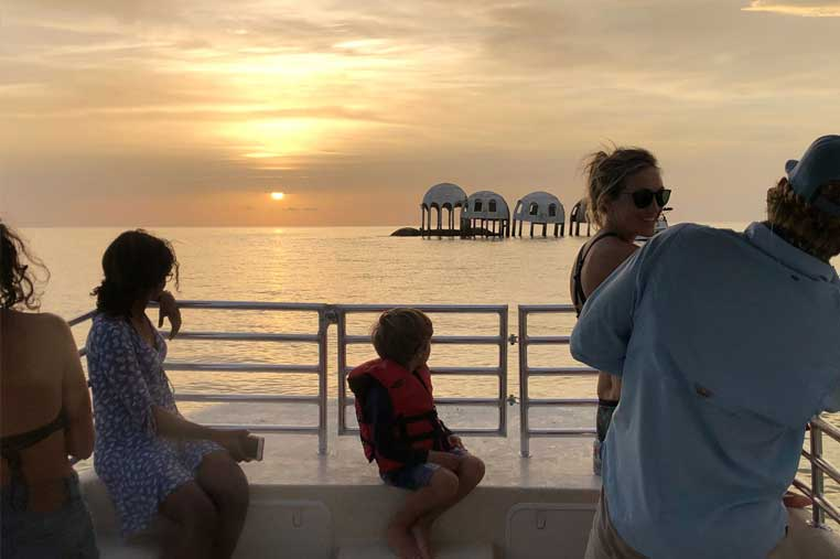 cape Romano boat tour for sunset | Florida Adventures and Rentals