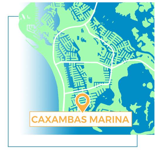 Caxambas Marina Map | Florida Adventures and Rentals