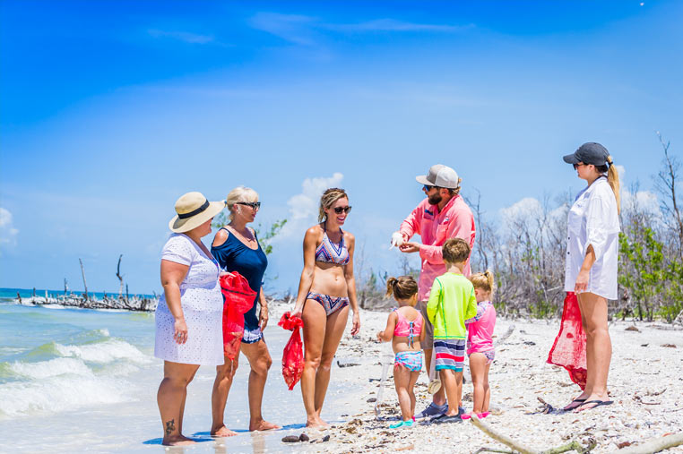Family Shelling trips in the 10,000 islands | Florida Adventures and Rentals