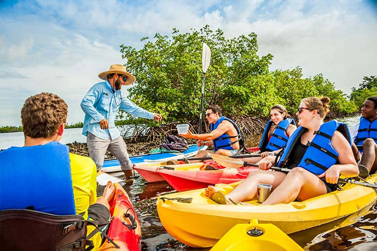 Fun Tour Guides on our Kayak Tours of Marco Island | Florida Adventures and Rentals