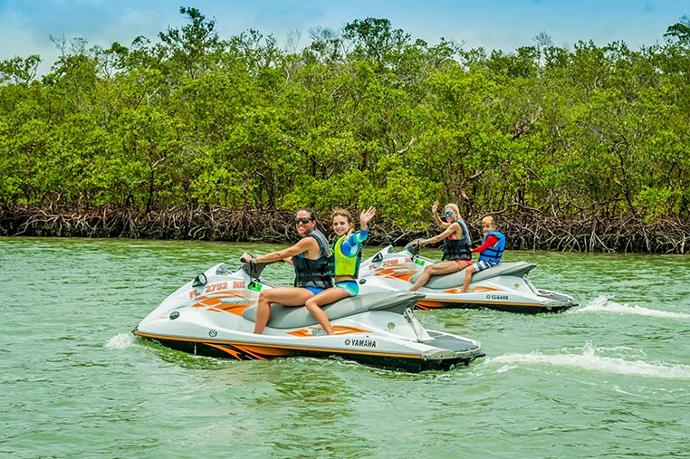 Family friendly Jet Ski Tours Marco Island | Florida Adventures and Rentals