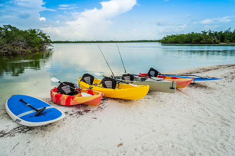 Kayak and Paddleboard Rentals Marco Island | Florida Adventures and Rentals