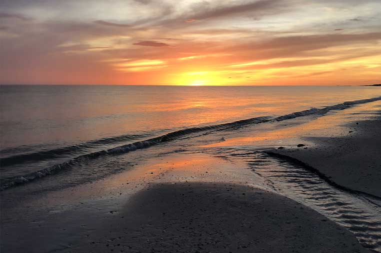 gulf of Mexico sunset boat tour on Marco island | Florida Adventures and Rentals