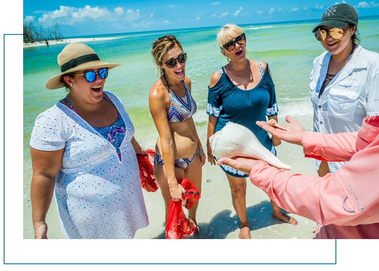 Educational and fun Marco Island Shelling Tours | Florida Adventures and Rentals