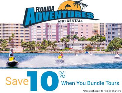 Save 10% when you bundle tours | Florida Adventures and Rentals