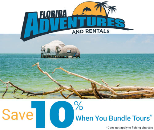 Save 10% when you bundle tours | Florida Adventures and Rentals