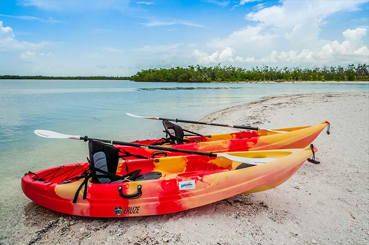 Single Kayak Rentals on Marco Island | Florida Adventures and Rentals
