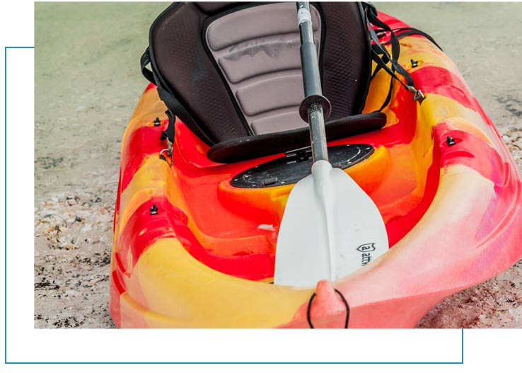 Single Kayak Rentals Marco Island | Florida Adventures and Rentals